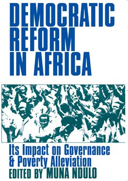 Cover of Democratic Reform in Africa