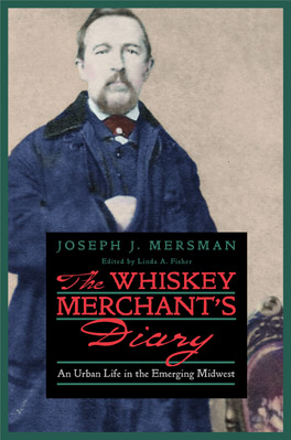 Cover of The Whiskey Merchant's Diary