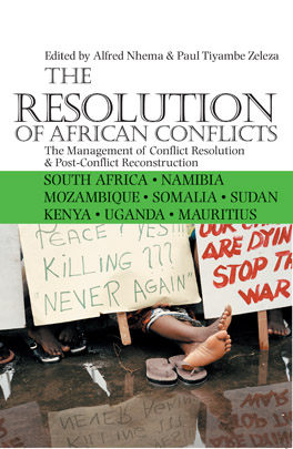 Cover of 'The Resolution of African Conflicts'