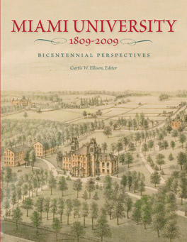 Cover of 'Miami University, 1809–2009'