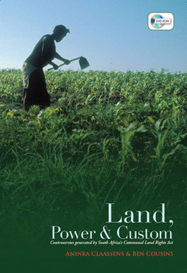 Cover of 'Land, Power, and Custom'