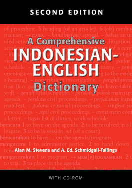 Cover of A Comprehensive Indonesian–English Dictionary