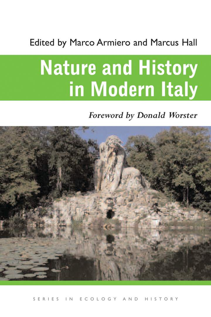Cover of Nature and History in Modern Italy