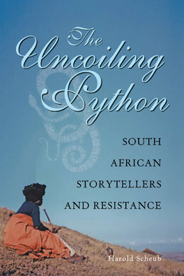 Cover of 'The Uncoiling Python'