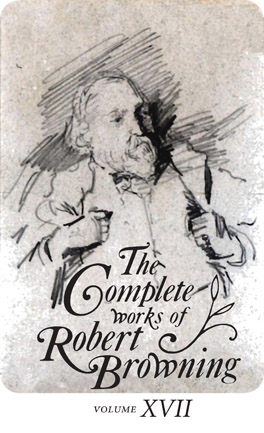 Cover of 'The Complete Works of Robert Browning, Volume XVII'