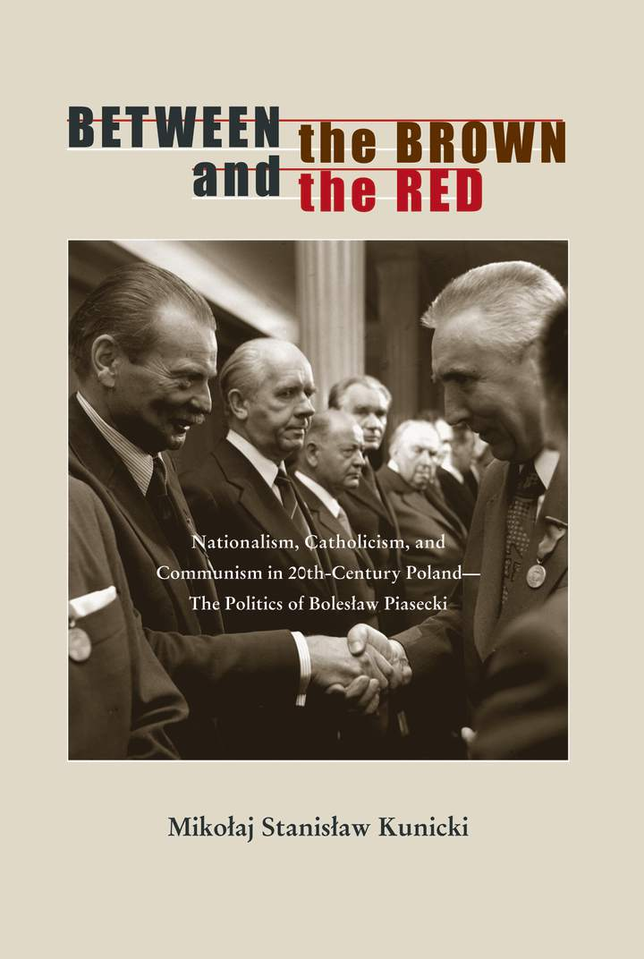 Cover of 'Between the Brown and the Red'