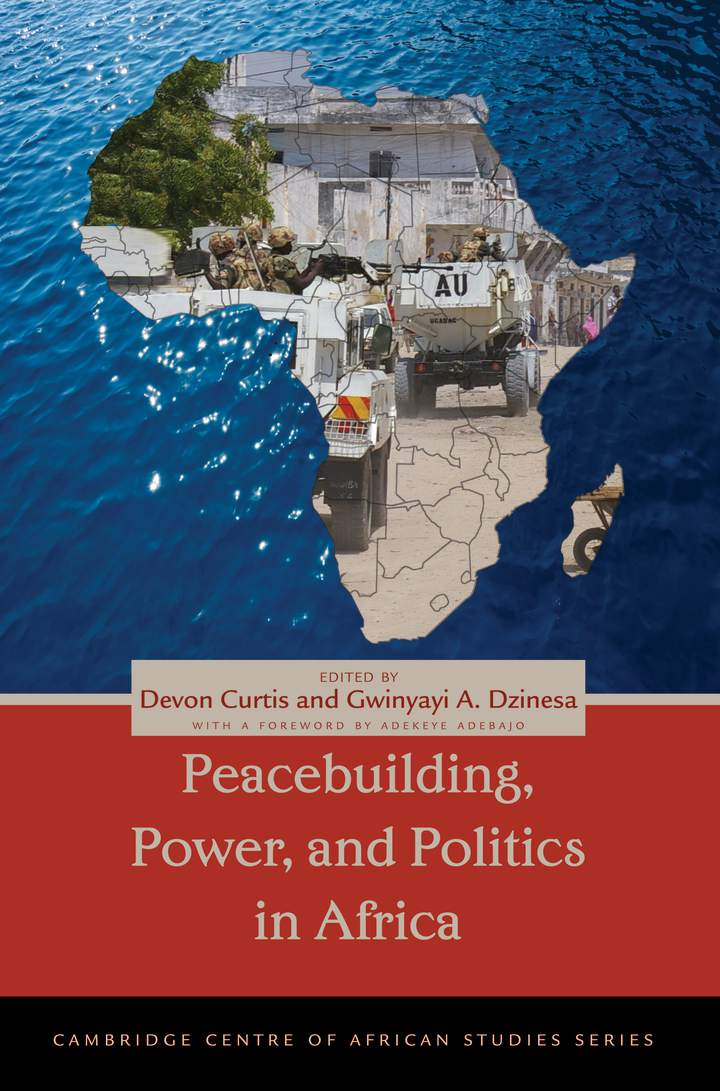 Cover of 'Peacebuilding, Power, and Politics in Africa'