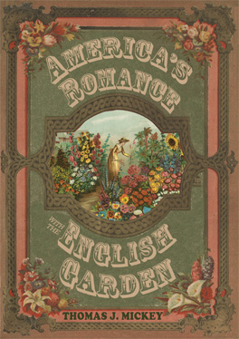 Cover of 'America's Romance with the English Garden'
