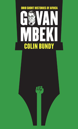Cover of Govan Mbeki