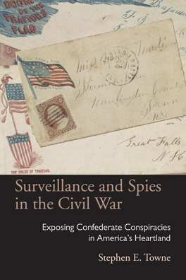 Cover of 'Surveillance and Spies in the Civil War'