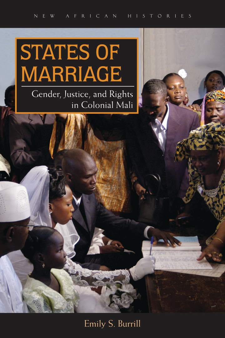 Cover of 'States of Marriage'