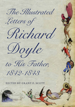 Cover of The Illustrated Letters of Richard Doyle to His Father, 1842–1843