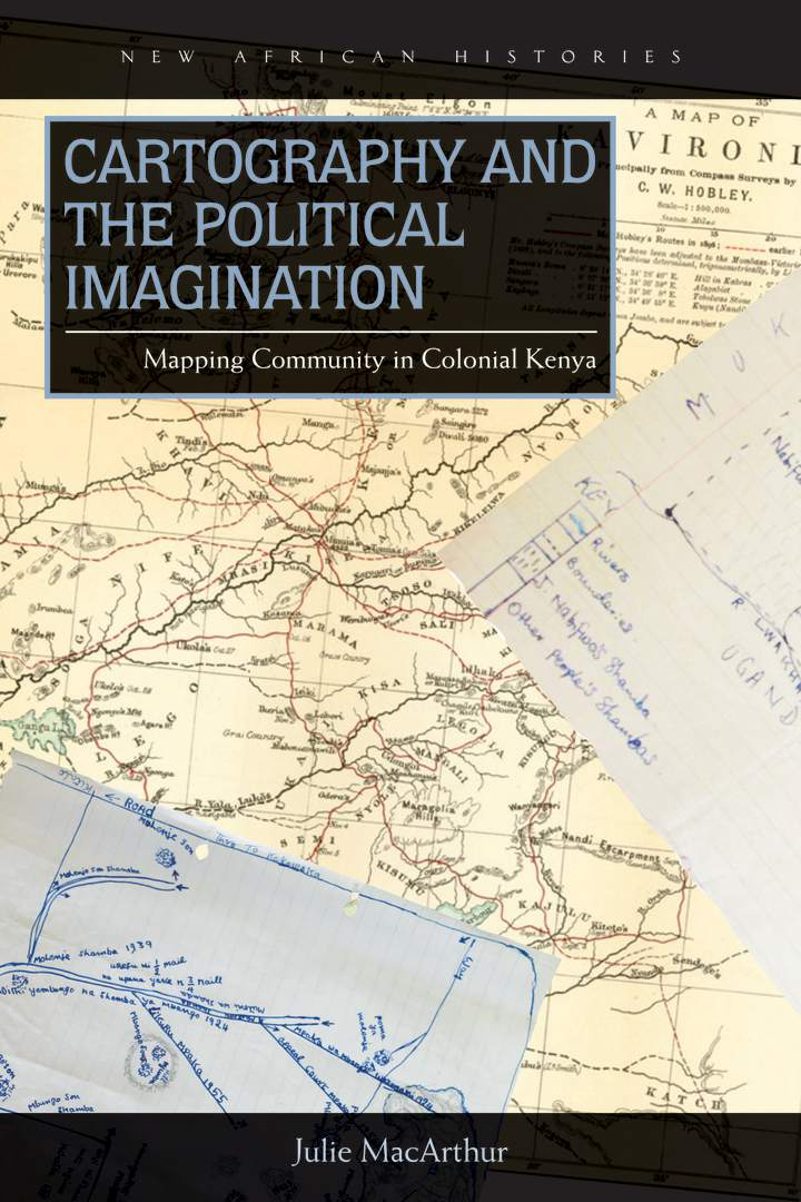 Cover of 'Cartography and the Political Imagination'