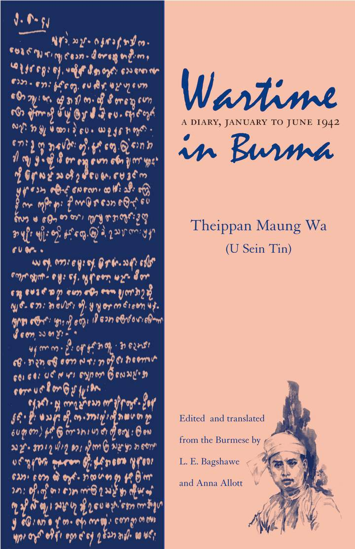 Cover of 'Wartime in Burma'