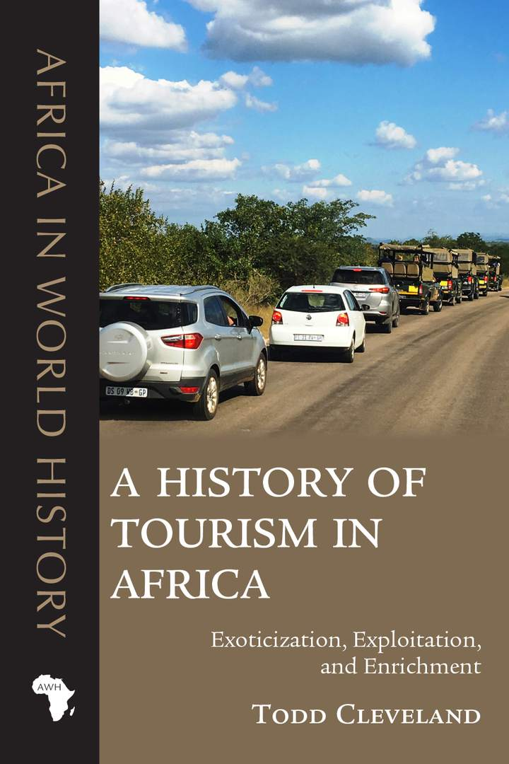 Cover of A History of Tourism in Africa