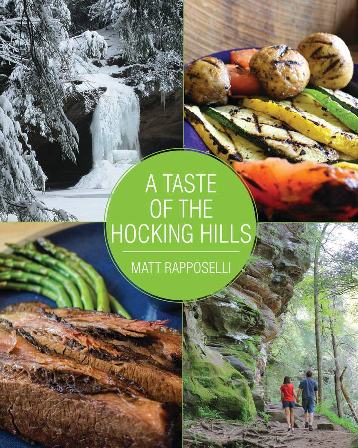 Cover of 'A Taste of the Hocking Hills'