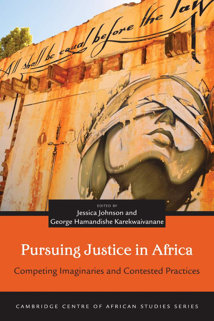 Cover of Pursuing Justice in Africa