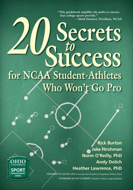 Cover of '20 Secrets to Success for NCAA Student-Athletes Who Won't Go Pro'