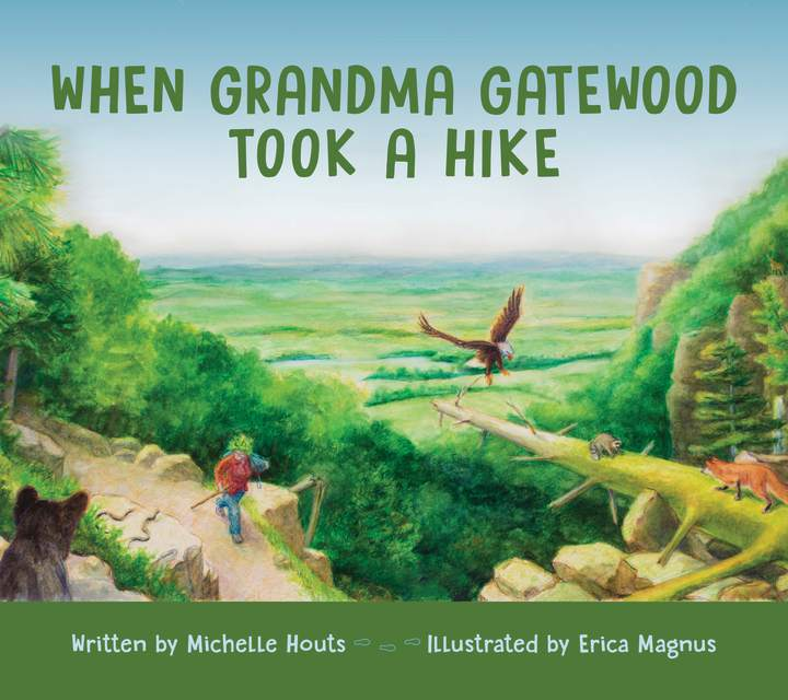 Cover of 'When Grandma Gatewood Took a Hike'
