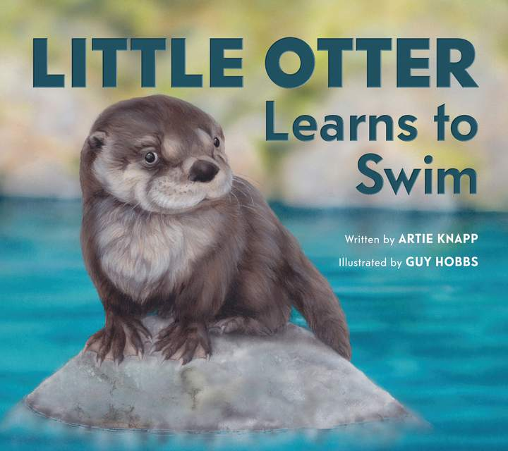 Cover of 'Little Otter Learns to Swim'