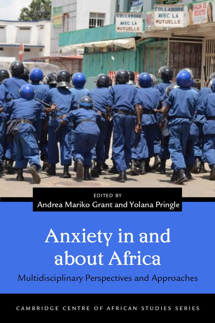 Cover of Anxiety in and about Africa