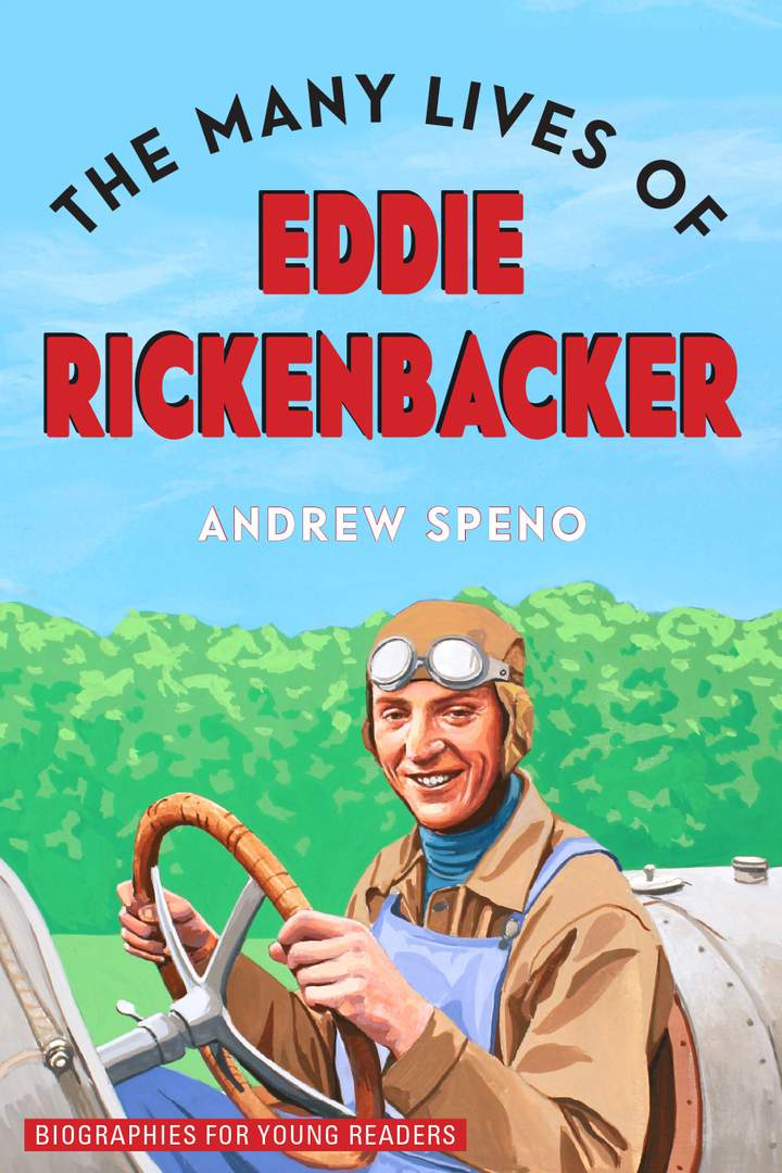 Cover of 'The Many Lives of Eddie Rickenbacker'
