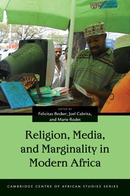Cover of 'Religion, Media, and Marginality in Modern Africa'